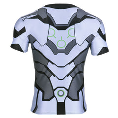 Genji 3D Printed Tight Fitting Shirt Type B