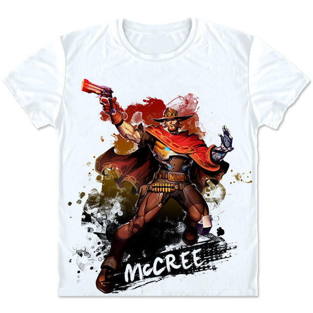 Overwatch Artwork T-Shirt - GeekGroks