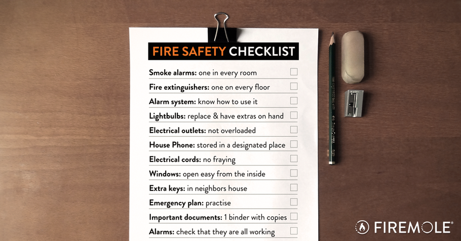 Free Download: Your Fire Safety Checklist for Your Home