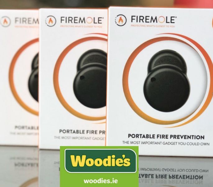 Firemole launches into Woodie's stores across Ireland