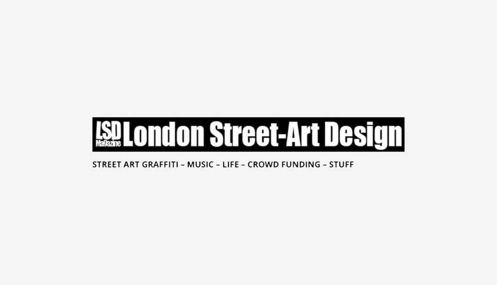 Successful Kickstarter campaign featured on the London Street-Art Design blog.