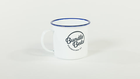 Bundle Beds Enamel Mug