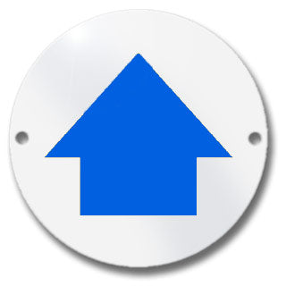 Waymarker Disc - Blue Arrow - Pack of 20