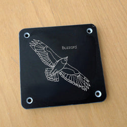 'Buzzard' rubbing plaque