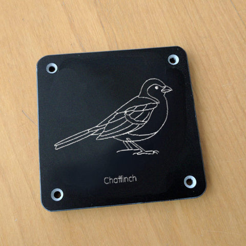 'Chaffinch' rubbing plaque