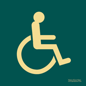 'Disabled' symbol sign