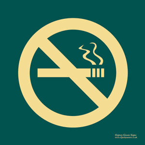 'No smoking' symbol sign