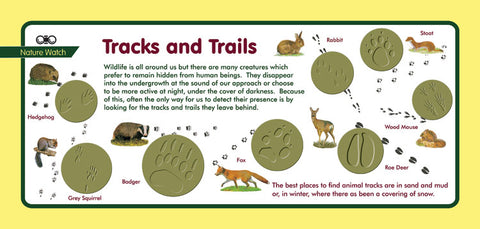 'Tracks and trails' Nature Watch Plus Panel