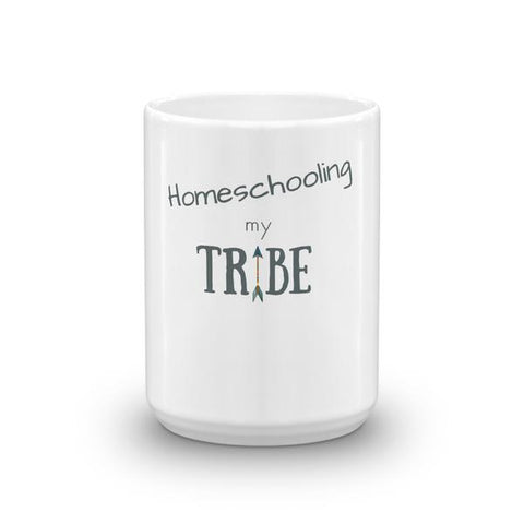 Homeschooling My Tribe Mug