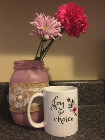 Joy is a Choice Mug