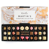 Martins Chocolatier Signature Collection Chocolate Gift Set | 30 Luxury Handmade Chocolates | 15 Chocolate Flavours