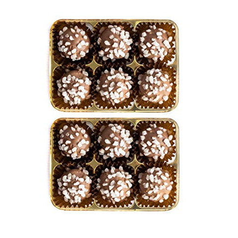 Martins Chocolatier Prosecco Chocolate Gift 6 Pack - 2 Boxes | Flavoured Chocolates