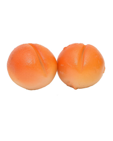 Marzipan - Apricot Shape -  Marzipan Fruits - 1.5 kilogram box
