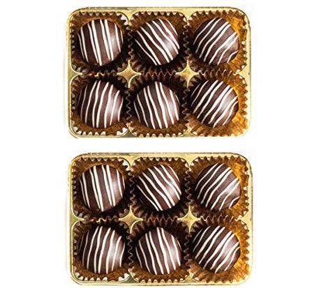 Martins Chocolatier Capuccino Chocolate Gift 6 Pack -  | Flavoured Chocolates