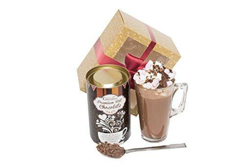 Dark Hot Chocolate Gift Set