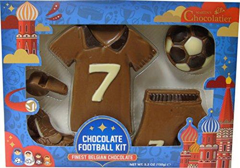 Milk Chocolate World Cup Kit 150 grams