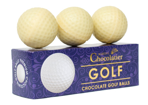 Chocolate Golf Balls - 3 Per Pack