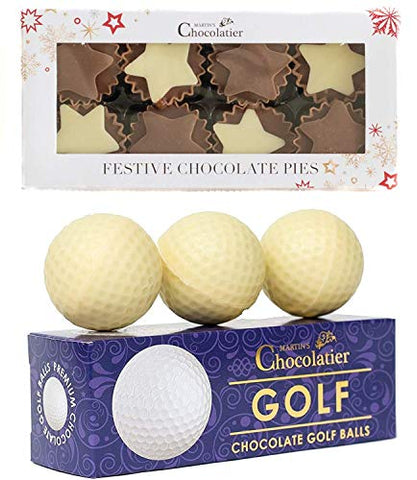 Chocolate Golf Balls  & Chocolate Mince Pies | Christmas Stocking Filler
