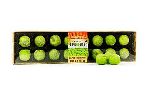 Chocolate Brussels Sprouts - Grandad Caption