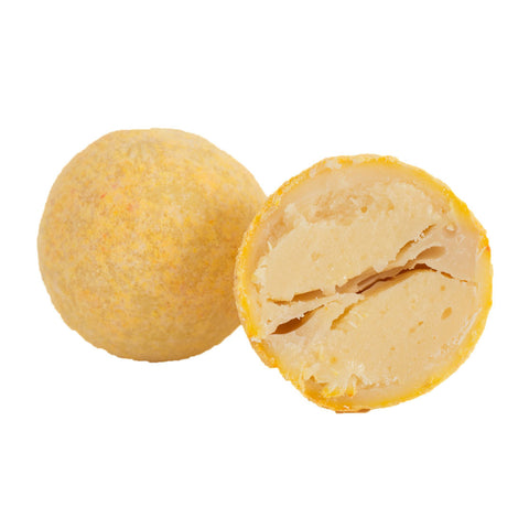 1kg box of 'Peachy' Peaches and Cream White Chocolate Truffles