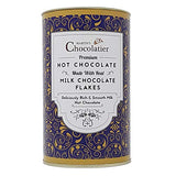 Martins Chocolatier Chocolate Taster Pack & Hot Chocolate Tin | Milk Chocolate | Drinking Chocolate