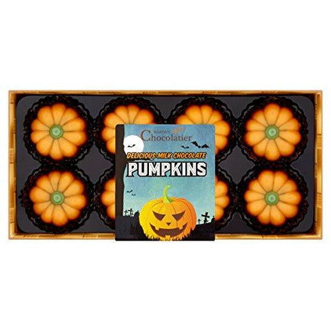 Halloween Milk Chocolate Pumpkins