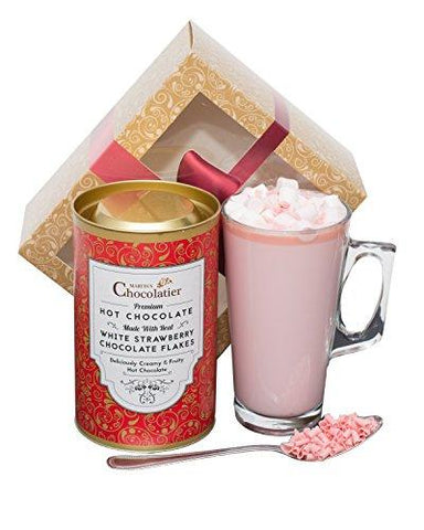 Strawberry Hot Chocolate Gift Set