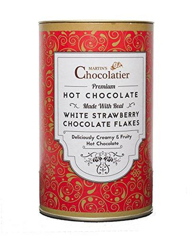 Martins Chocolatier Hot Chocolate - Strawberry Hot Chocolate