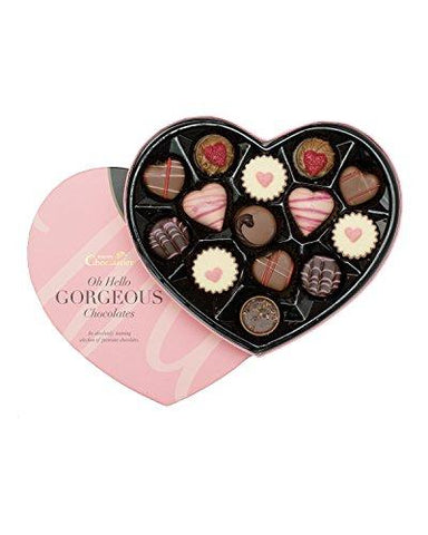Valentines Heart Shaped Chocolate Box