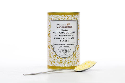 White Hot Chocolate - Made From Real White Chocolate Flakes