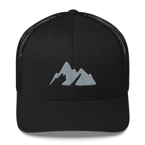"Trail & Kale Classic Trucker Hat - ""Stealth Edition"" - Trail & Kale Shop"