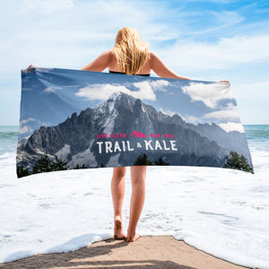Chamonix post-run Towel - Trail & Kale Shop
