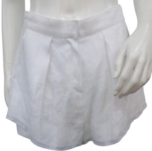 Front Pleated Shorts