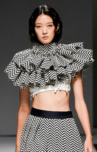 Ruffle Shoulder Piece  ***Collection Line***