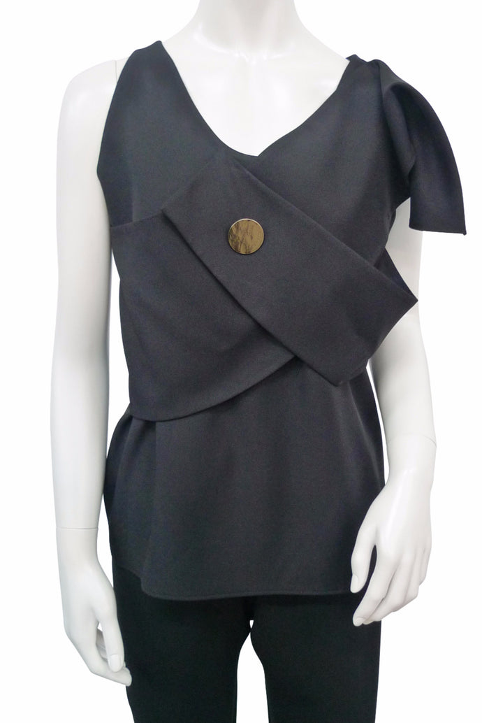 Black Sleeveless Top ***Collection Line***
