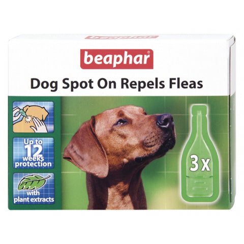 Beaphar Dog Spot On 12 Week Flea Repels