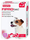 Beaphar FIPROtec Spot On Flea & Tick Treatment for Small Dogs