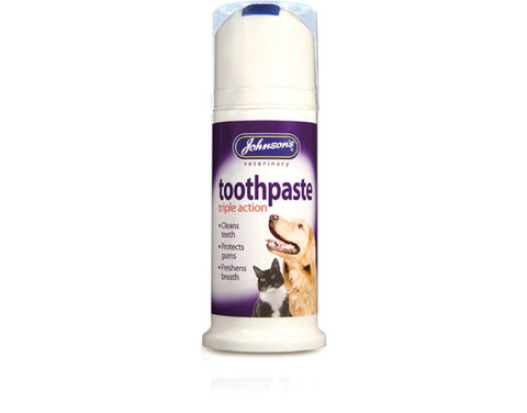 Johnson's Triple Action Toothpaste for Dogs & Cats