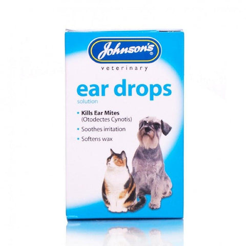 Johnson's Ear Drops for Dogs & Cats