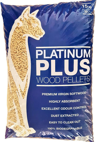 Wood Pellet Cat Litter - Biodegradable