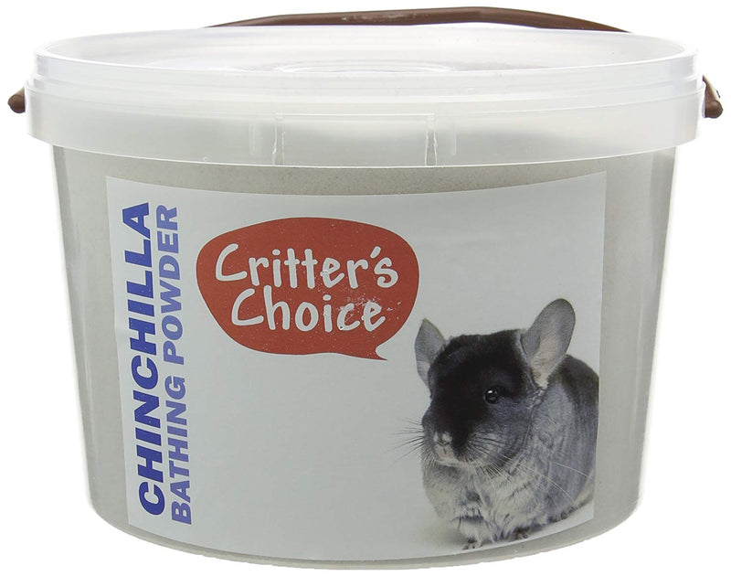 Critters Choice Chinchilla Dusting Powder - 4.5 kg
