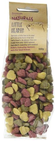 Rosewood Naturals Little Hearts Small Animal Treats