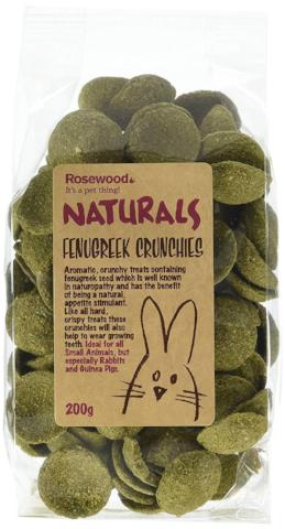 Rosewood Fenugreek Crunchies Small Animal Treats