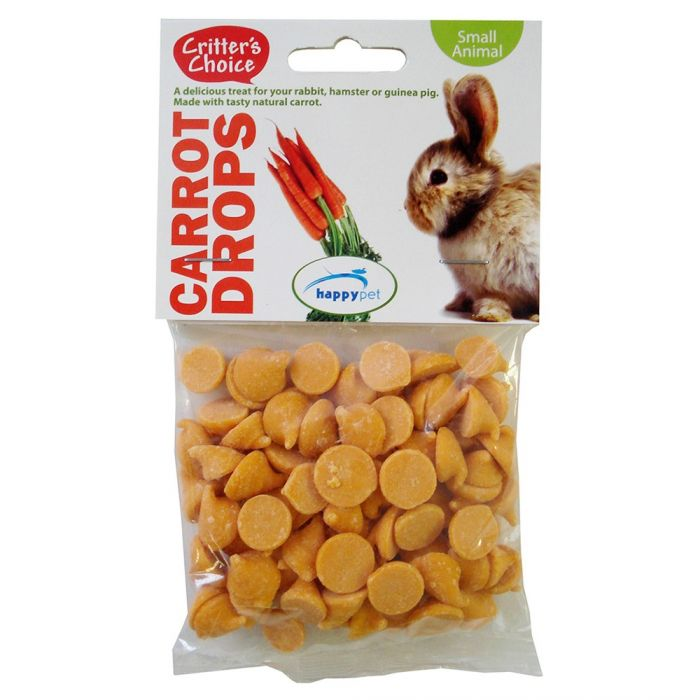 Critters Choice Carrot Drops 75g