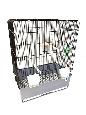 Crystal Budgie & Canary Cage - Medium
