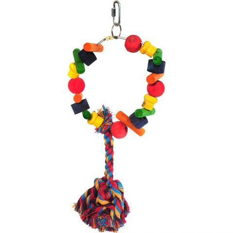 Happy Pet Cartwheel Bird Toy