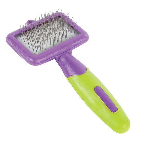 Happy Pet Small Animal Grooming Slicker Brush