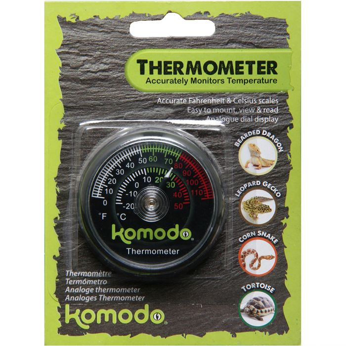 Komodo Analog Thermometer