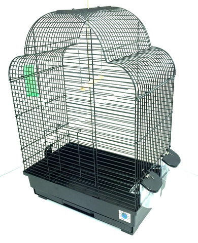 Elsa Large Budgie & Canary Cage - Black