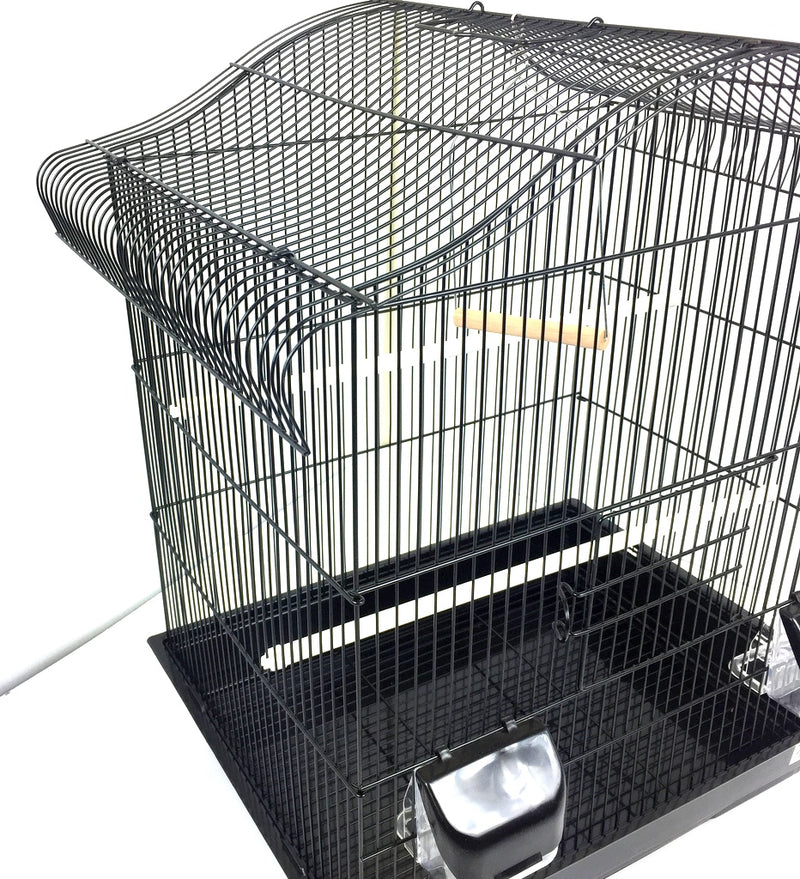 Maxine Large Bird Cage For Budgie & Canary - Black